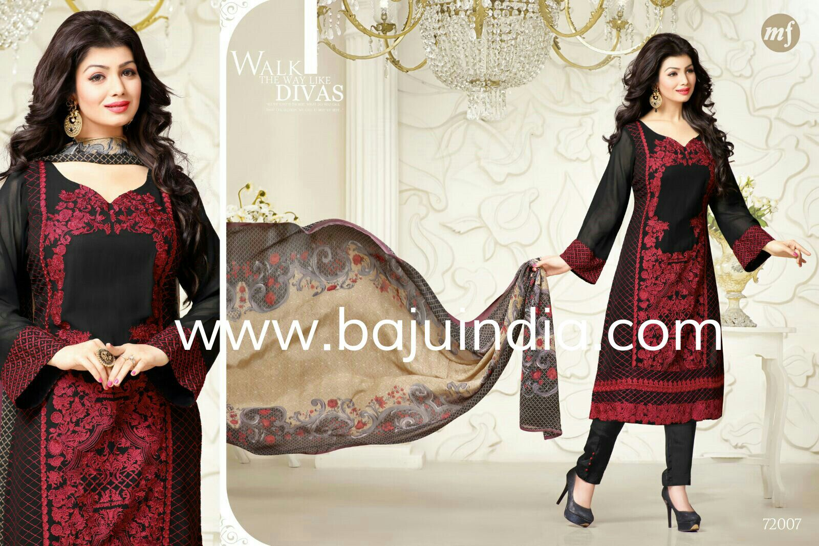 Baju India Muslim - Baju India Modern - Baju Khas India - Baju Adat India - Sari India Terbaru - Sari India Muslim - Baju Kerajaan India - Baju Salwaar India - mf 72007