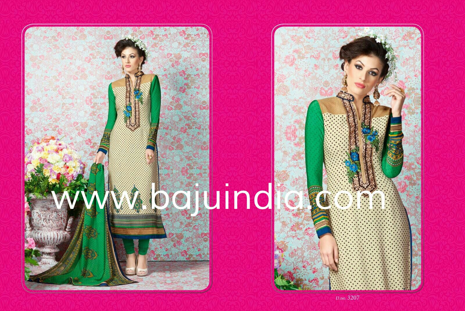 Baju India Muslim - Baju India Modern - Baju Khas India - Baju Adat India - Sari India Terbaru - Sari India Muslim - Baju Kerajaan India - Baju Salwaar India – D.NO.3207