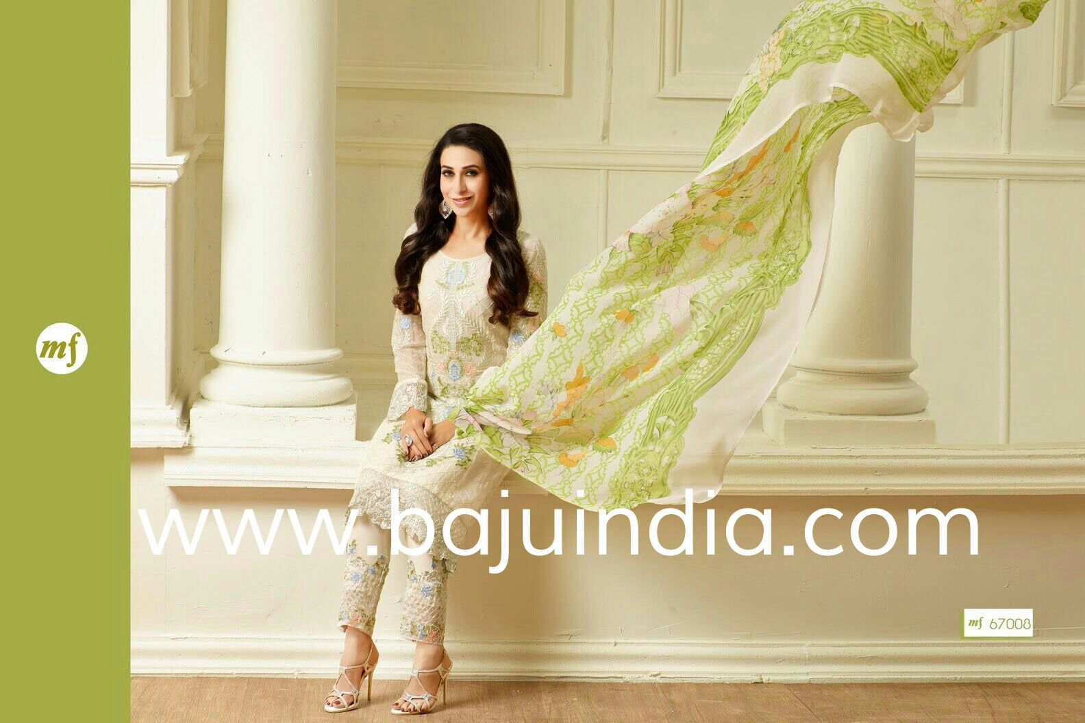 Baju India Muslim - Baju India Modern - Baju Khas India - Baju Adat India - Sari India Terbaru - Sari India Muslim - Baju Kerajaan India - Baju Salwaar India – MF 67000