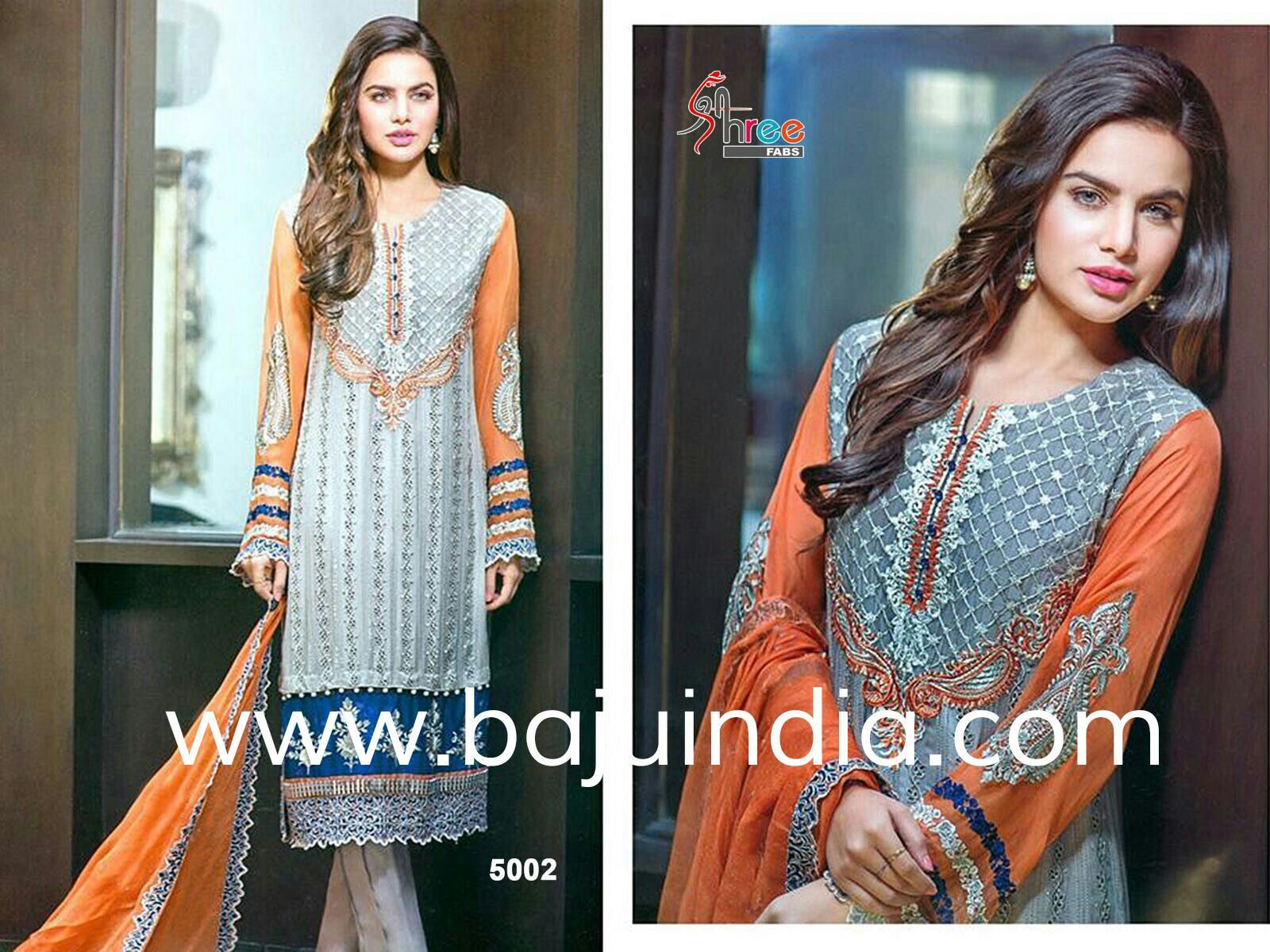 Baju India Muslim - Baju India Modern - Baju Khas India - Baju Adat India - Sari India Terbaru - Sari India Muslim - Baju Kerajaan India - Baju Salwaar India – SHREE 5002