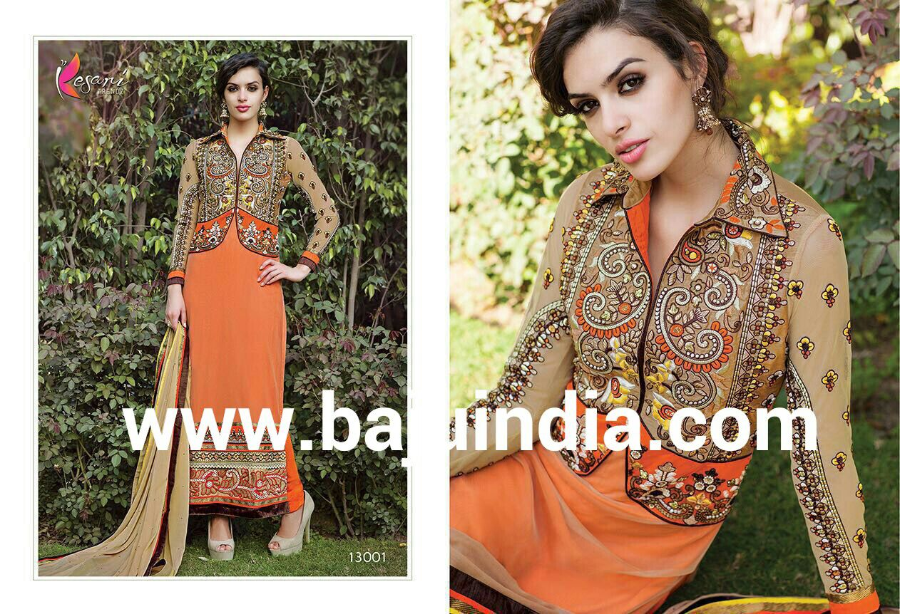 Baju India Muslim - Baju India Modern - Baju Khas India - Baju Adat India - Sari India Terbaru - Sari India Muslim - Baju Kerajaan India - Baju Salwaar India – 13001