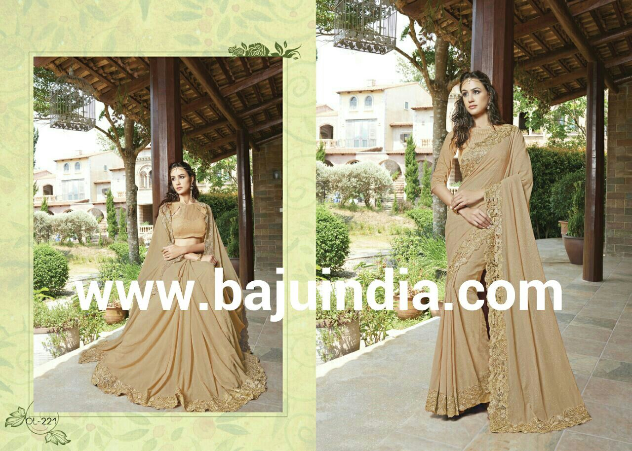 Baju India Muslim - Baju India Modern - Baju Khas India - Baju Adat India - Sari India Terbaru - Sari India Muslim - Baju Kerajaan India - Baju Salwaar India – OL-221