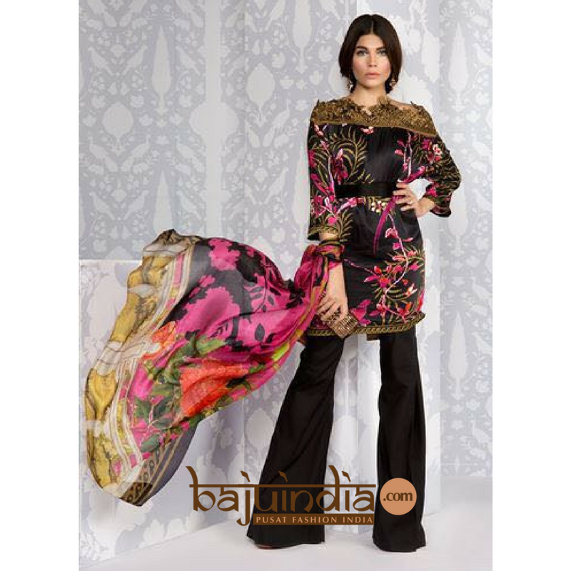 Baju India Muslim - Baju India Modern - Baju Khas India - Baju Adat India - Sari India Terbaru - Sari India Muslim - Baju Kerajaan India - Baju Salwaar India – SK-31104