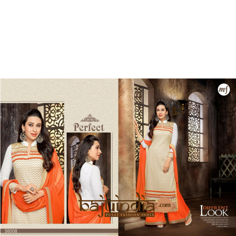 Baju India Muslim - Baju India Modern - Baju Khas India - Baju Adat India - Sari India Terbaru - Sari India Muslim - Baju Kerajaan India - Baju Salwaar India – MF-58008