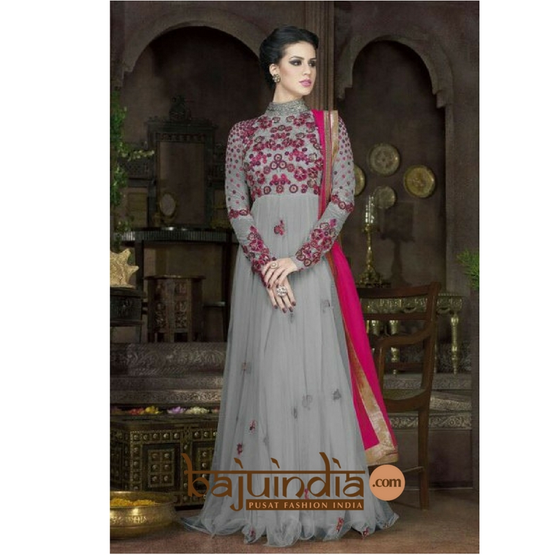 Baju India Muslim - Baju India Modern - Baju Khas India - Baju Adat India - Sari India Terbaru - Sari India Muslim - Baju Kerajaan India - Baju Salwaar India – BEST SELLER - style anarkali wedding 1112