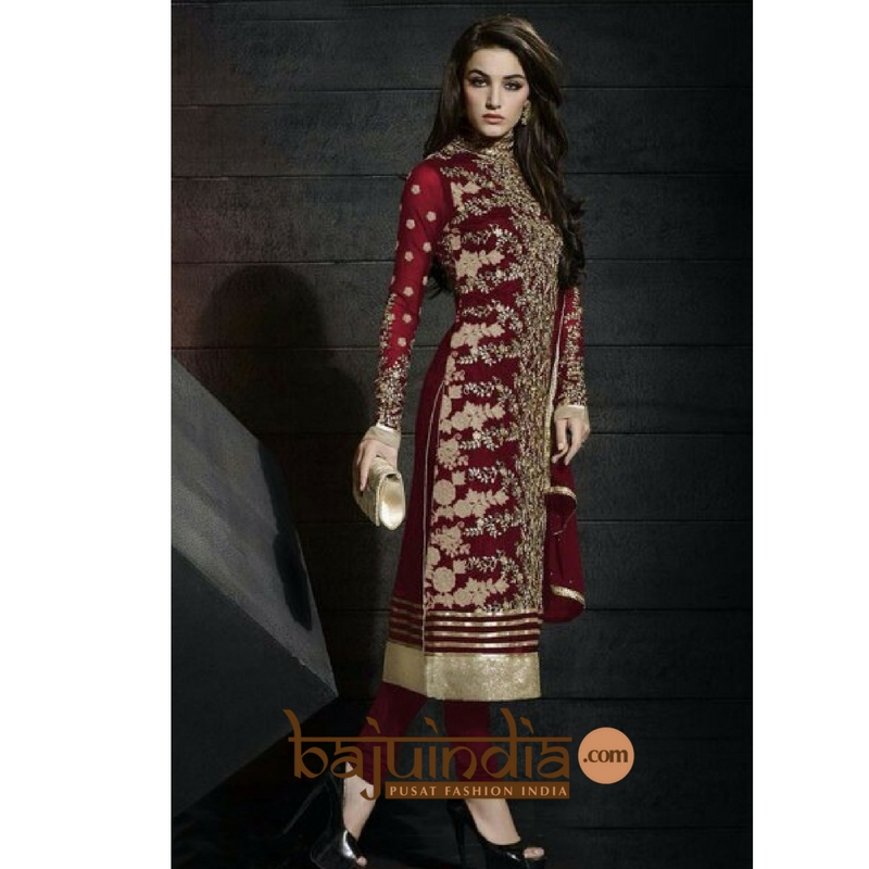 Baju India Muslim - Baju India Modern - Baju Khas India - Baju Adat India - Sari India Terbaru - Sari India Muslim - Baju Kerajaan India - Baju Salwaar India – BEST SELLER - style anarkali wedding 1113