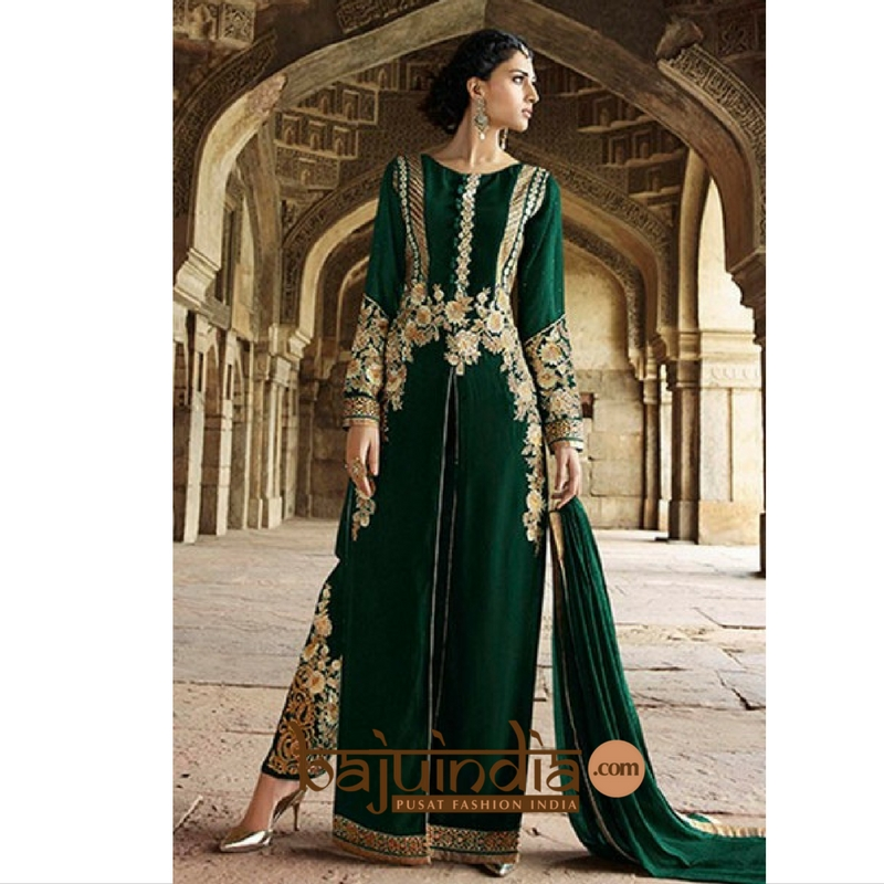 Baju India Muslim - Baju India Modern - Baju Khas India - Baju Adat India - Sari India Terbaru - Sari India Muslim - Baju Kerajaan India - Baju Salwaar India – BEST SELLER - style anarkali for wedding 1116