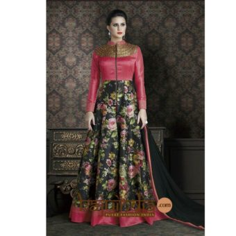 BEST SELLER –  Silk Fabric  Anarkali 1117