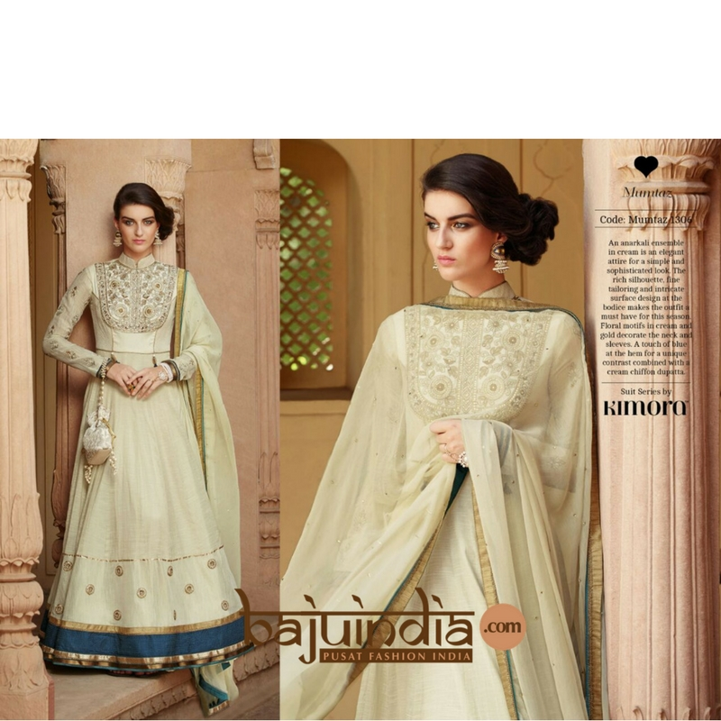 Baju India Muslim - Baju India Modern - Baju Khas India - Baju Adat India - Sari India Terbaru - Sari India Muslim - Baju Kerajaan India - Baju Salwaar India – Kimora original - 1306