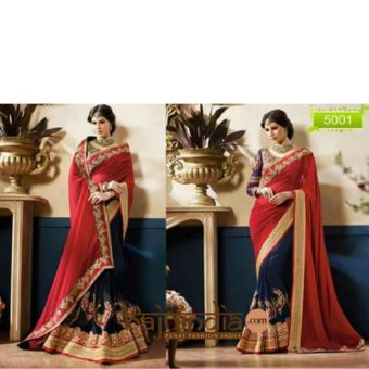 Georgtte saree – 5001