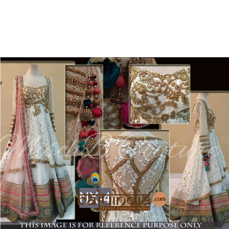 Baju India Muslim - Baju India Modern - Baju Khas India - Baju Adat India - Sari India Terbaru - Sari India Muslim - Baju Kerajaan India - Baju Salwaar India –  Sale - NX-4