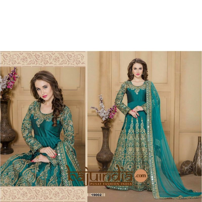 Baju India Muslim - Baju India Modern - Baju Khas India - Baju Adat India - Sari India Terbaru - Sari India Muslim - Baju Kerajaan India - Baju Salwaar India –  Celebrity-19002