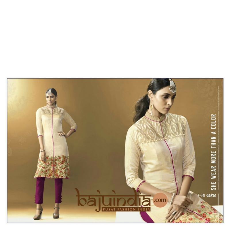 Baju India Muslim - Baju India Modern - Baju Khas India - Baju Adat India - Sari India Terbaru - Sari India Muslim - Baju Kerajaan India - Baju Salwaar India –  K-341